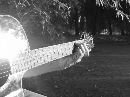 guitar play guitar pluck