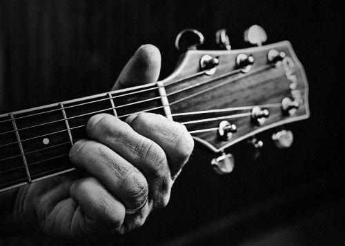 guitar guitar playing guitar player