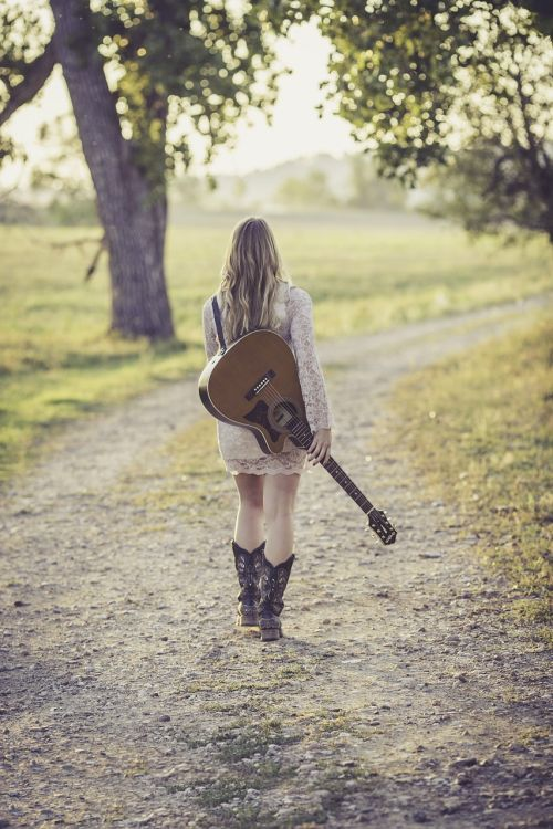guitar country road young