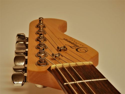 guitar head guitar strings