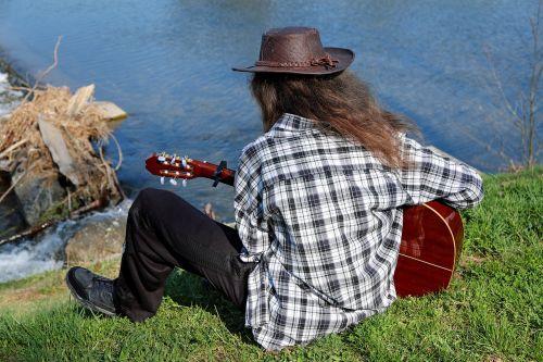 guitar player musician instrument