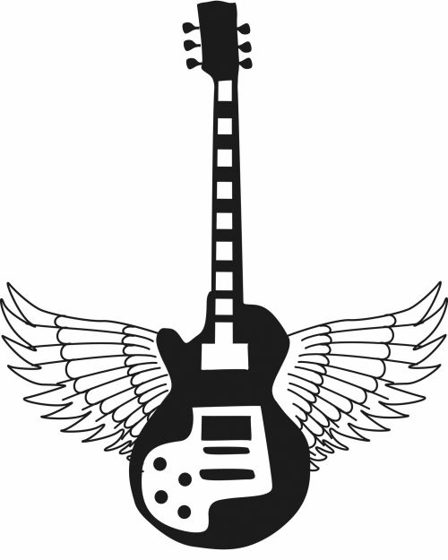 Guitar With Wings Electric Music
