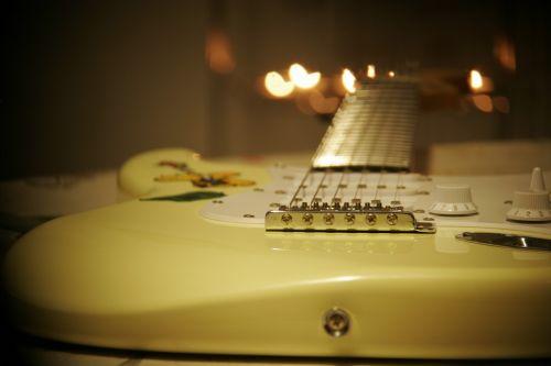 guitara music silence