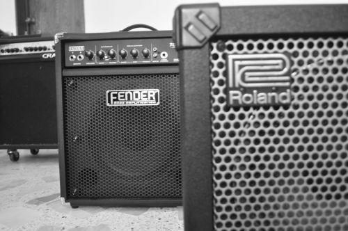 guitarist amplifiers musician