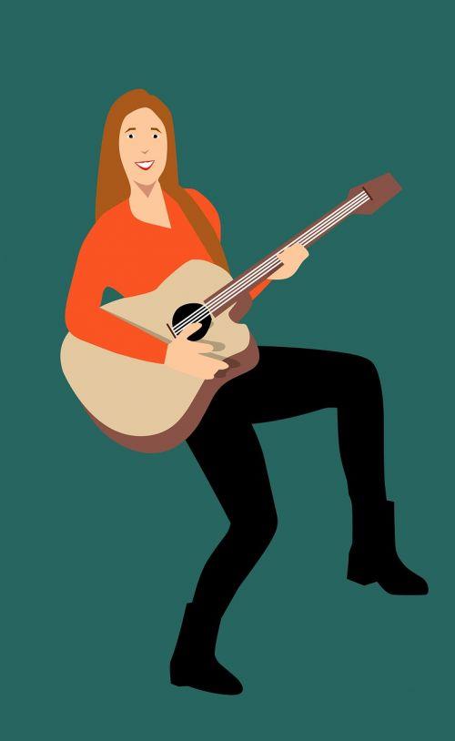 guitarist musician playing