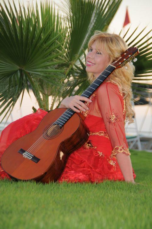 guitarist artist performer