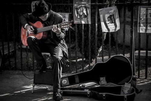 Guitarist On The Street