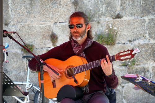 Guitarist In Concert