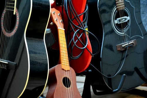 guitars ukulelle instruments