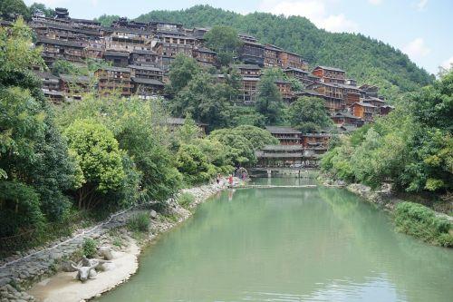 guizhou xijiang thousand households miao village