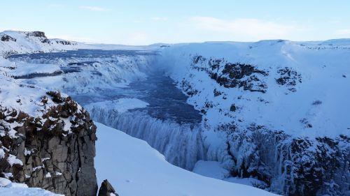 gullfoss waterfall gullfoss great waterfall