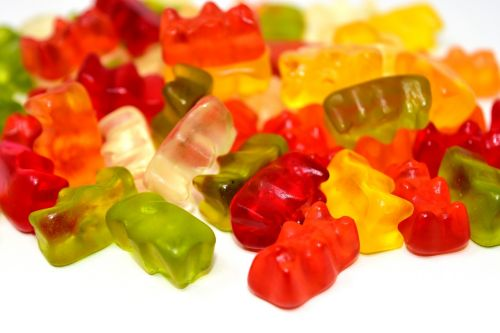 gummibärchen candy colorful