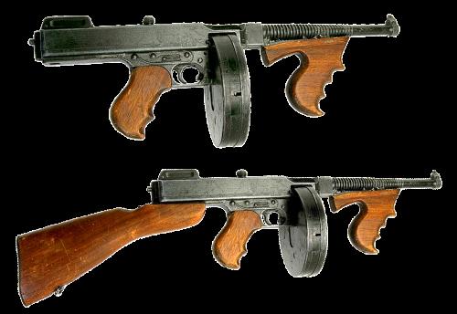 gun firearms automatic