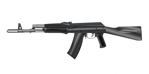 gun machine gun кalashnikov