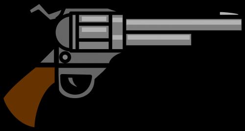 gun handgun pistol