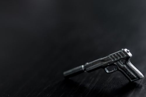 gun black wood