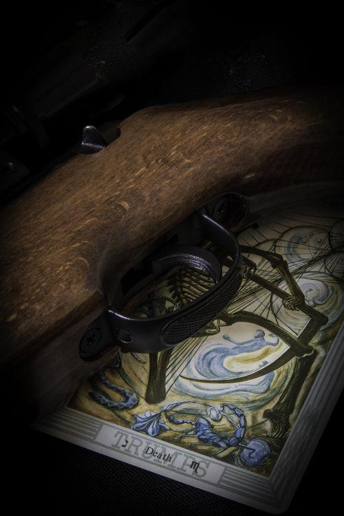 gun tarot death