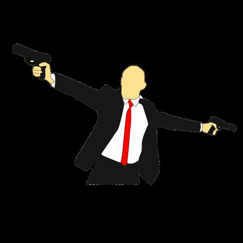 gun danger clipart