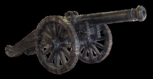 gun old artillery