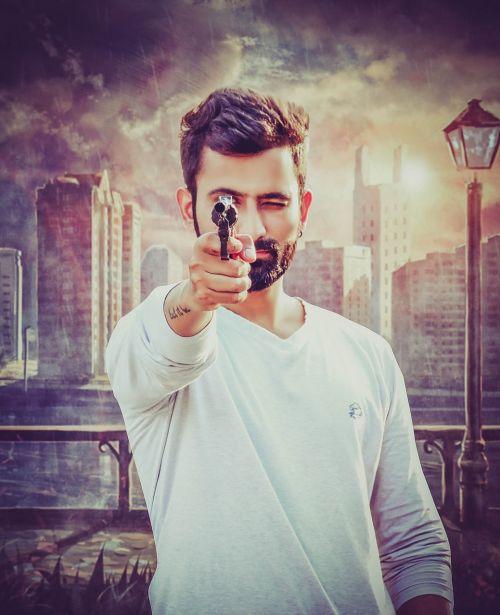 gun gunpoint shoot