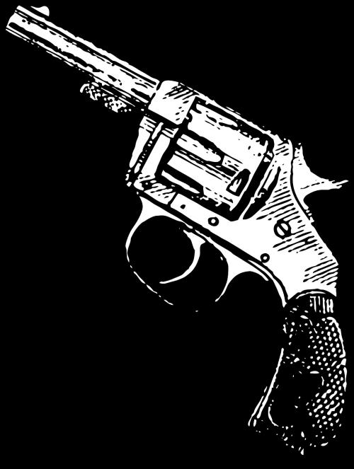 gun revolver pistol