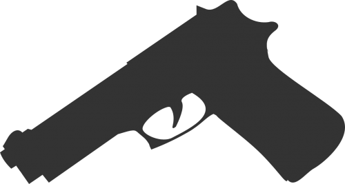 gun pistol handgun
