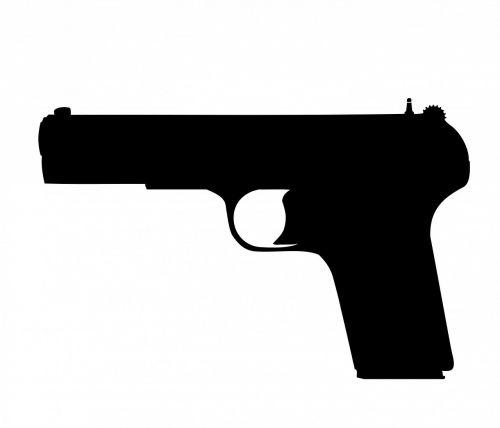 gun pistol revolver