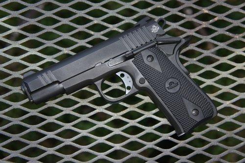 gun  pistol  firearm