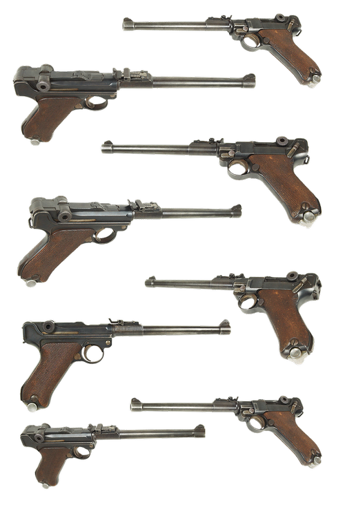 gun  parabellum p 08  borchardt-luger