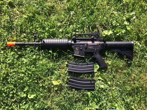 gun rifle weapon