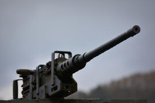 gun walking war
