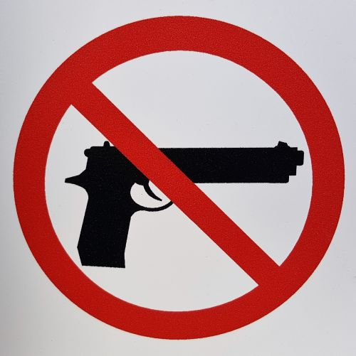 gun control gun laws sign