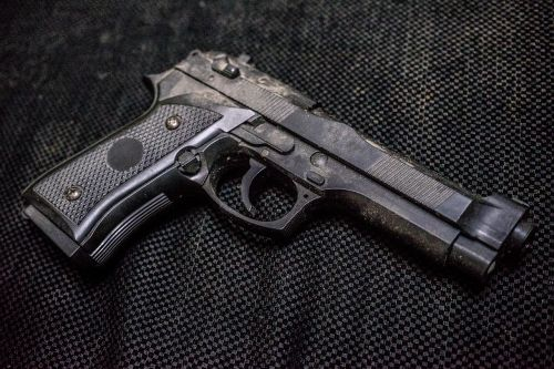 guns gun metal