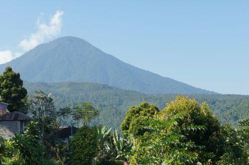 gunung agung bali indonesia
