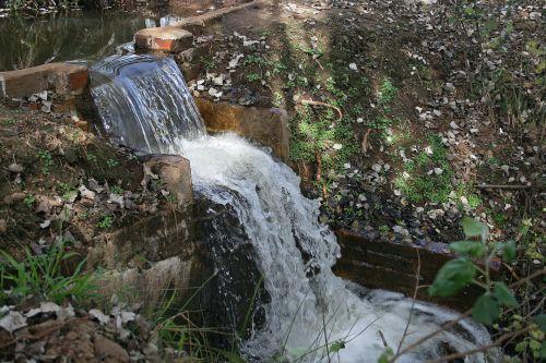Gushing Water Cascade