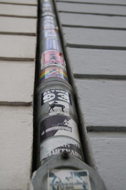gutter city sticker