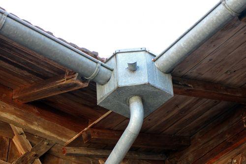 gutter rainwater downpipe