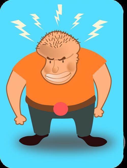 guy man angry