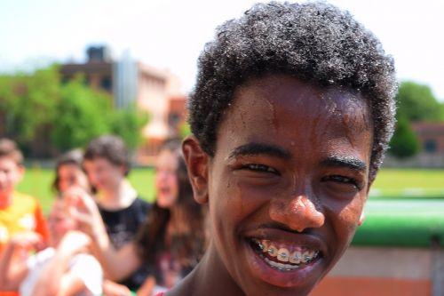 guy smile teeth