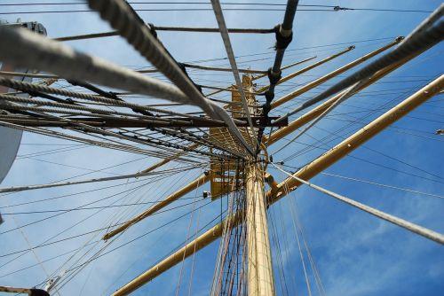 guys sails mast