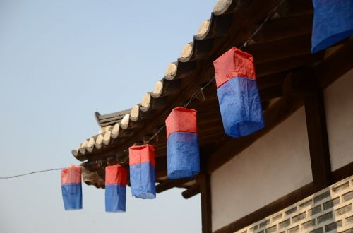 gyeongbok palace namsan hanok village angel lanterns