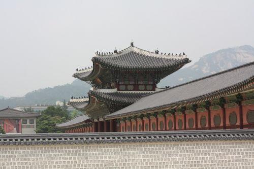 gyeongbok palace hanok traditional