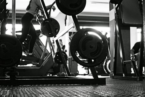 gym academy dumbbells