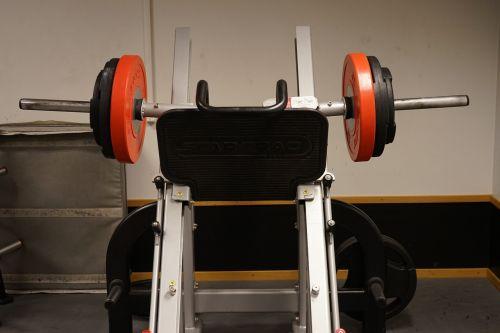 leg press weights machine