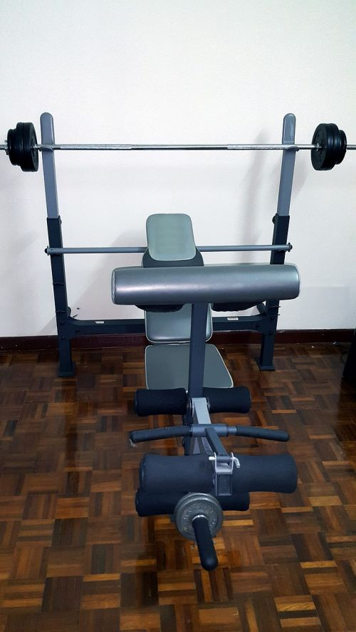 gym equipment barbell