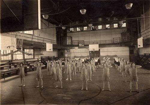 gym gym class 1940's