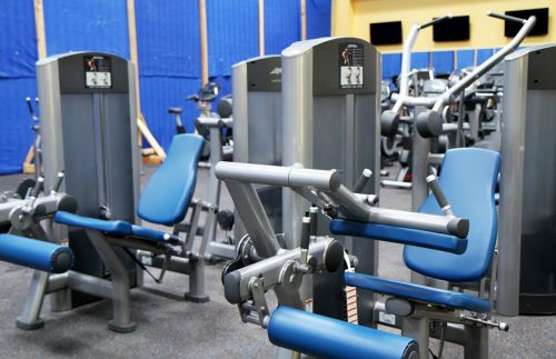 gym room fitness sport