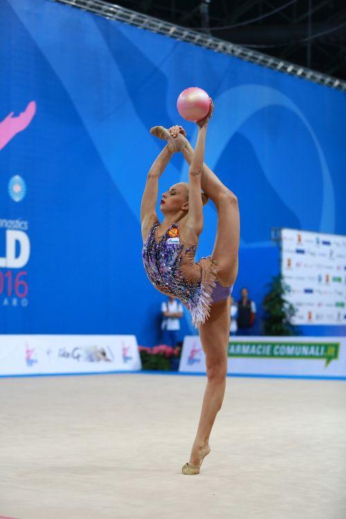gymnast gymnastics rhythmic gymnastics