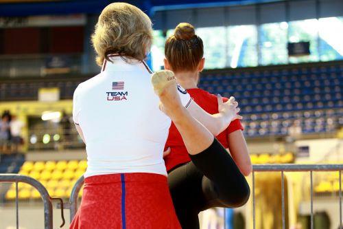 gymnast athlete gym