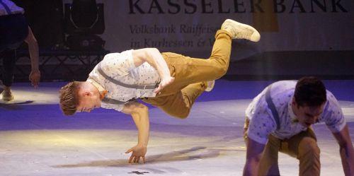 gymnastics break dancing artist